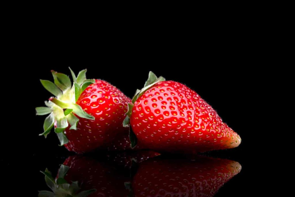 are black strawberries real